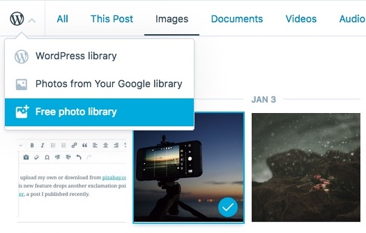 Choosing a Free Stock Photo as Your Featured Image